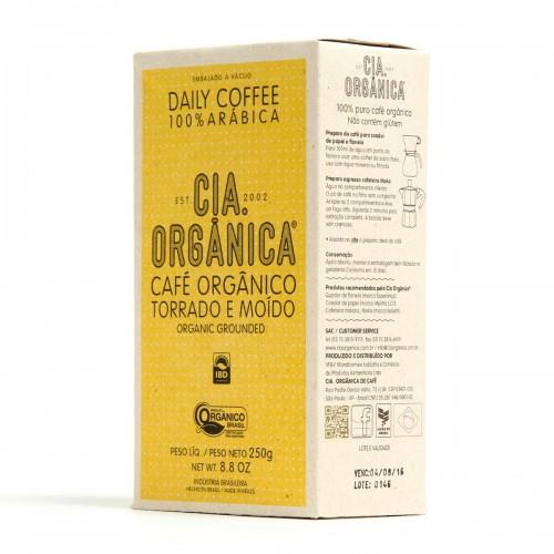 Cia. Orgânica – Daily Coffee – Café Orgânico