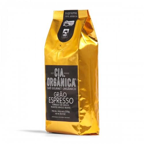 Cia. Orgânica – Café Orgânico Supreme Grão Espresso 250g